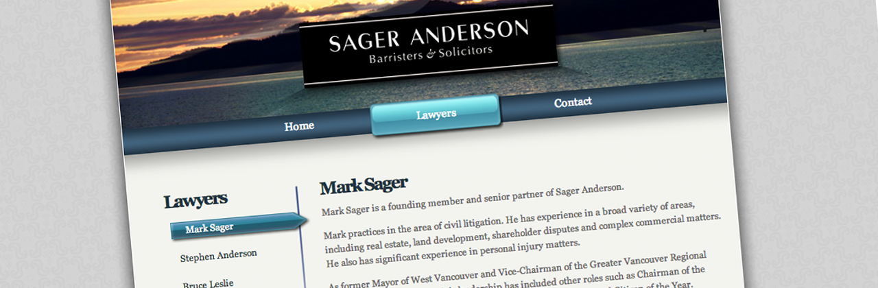 Sager Anderson B&S