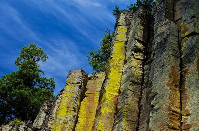 Warblr Photography: Basalt Columns near Keremeos.  #AmazingPlanet #GiantsCauseway #DevilsTower