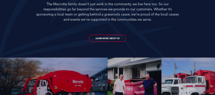 Website Redesign: Marcotte Disposal