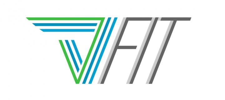 Logo Design: Vector Fitness // VFit